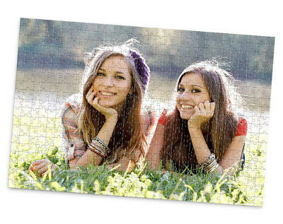 Personalised Jigsaw Photo Collage Message Puzzle Add own Personal Custom Images