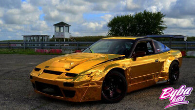 Byba Kits style  V2 Arches Nissan 200sx S13 Wide Body Kit Overfenders