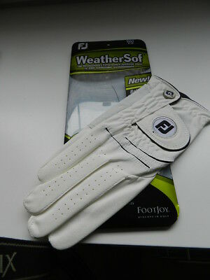 Footjoy Weather Sof mens Golfhandschuh Gr.XL  right, weiß