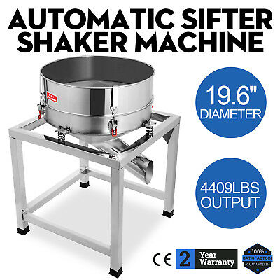 Automatic Sifter Shaker Machine Efficiency Flour Electric POPULAR PROMOTION