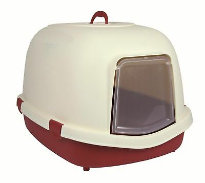 Trixie Primo Cat Litter Tray with Hood/Flap/Handle, X-Large, 71 x 56 x 47 cm,...