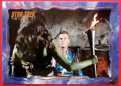 "STAR TREK TOS 50th Anniversary - ""THE CAGE"" - GOLD FOIL Chase Card #42"