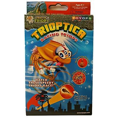 Trioptica Racing Triops Eggs Triassic Kit by Toyops Age of the Dinosaurs