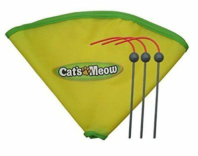 "Cat's Meow Cat Toy..Replacement Spare Wands and 23"" Nylon Skirt"