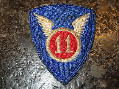 WWII US ARMY 11th AIRBORNE SHOULDER PATCH