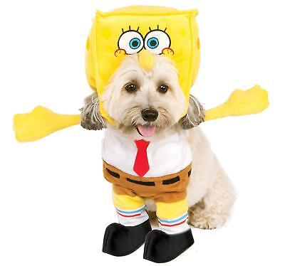 Spongebob Squarepants Dog Costume - MEDIUM - Plush Frontal - Rubie's - NWT