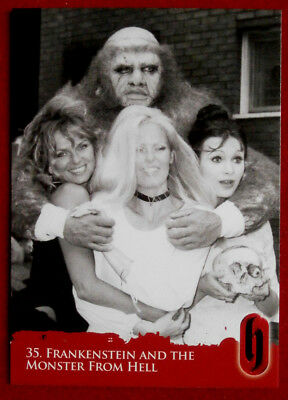 HAMMER HORROR - Series Two - FRANKENSTEIN AND THE MONSTER FROM HELL - Card #35