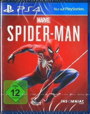 Marvel's Spider-Man Spiderman - PlayStation 4 PS4 - Neu & OVP - Deutsche Version