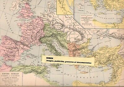 Carte Europe Charles Quint.Ref 643 51 1 Carte Originale Annee 1893 Drioux Leroy Europe