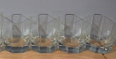 4 Arcoroc Octime Glasses Tumblers France juice glasses