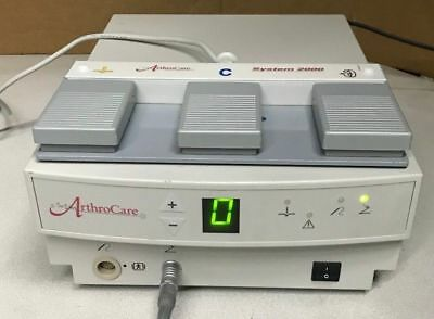 ArthroCare 2000 Series Electrosurgery System 2888 with Foot Control & NEW Wand