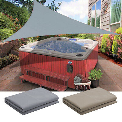 Sun Shade Sail Outdoor Top Canopy Patio UV Wind Waterproof 11.5' 16.5' Triangle
