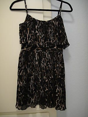 51879cf424 Guess Animal Print Dress Size XXS 1 Brown and Black club night casual party