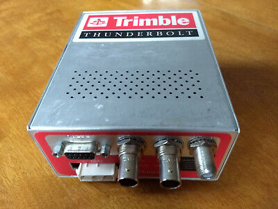Trimble Thunderbolt GPS Receiver Timing Frequency Reference 10 MHz w/ powerconn