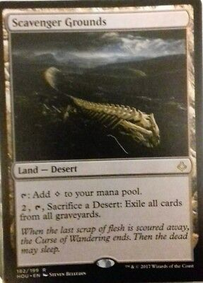 Scavenger Grounds. Rare Land. Hour of Devastation. MTG