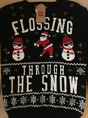 Primark Christmas Jumper Fortnite Flossing Through The Snow Sold Out