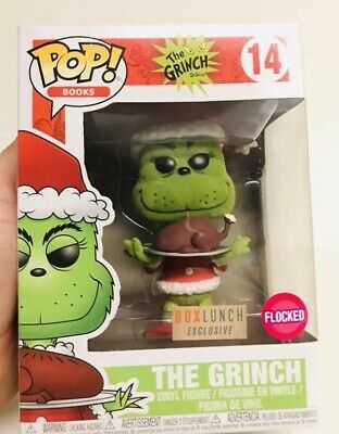 Funko POP Grinch Flocked Box Lunch Exclusive #14