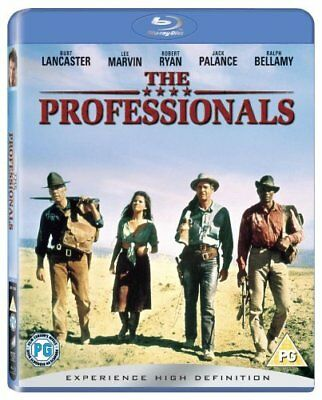 The Professionals (Blu-ray, 1966, Region Free) *BRAND NEW/SEALED*