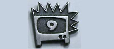 KQED Channel 9 -PBS Logo , Media, Television Pin