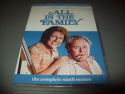 All in the Family: The Complete Ninth Season (DVD, 2011, 3-Disc Set......NEW*