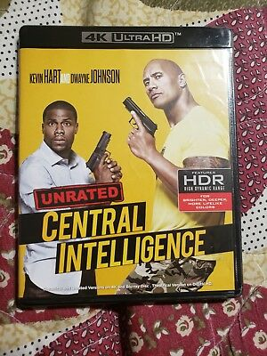 Central Intelligence: unrated (4K ultra HD and bluray) no digital code. The Rock