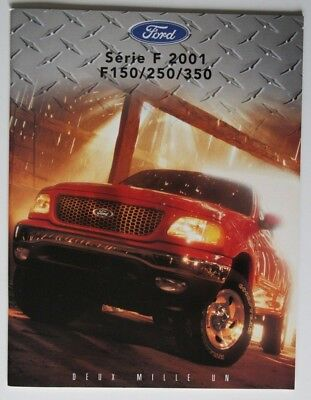 FORD F SERIES 2001 dealer brochure - French - Canada - ST2003000918 F150 F250