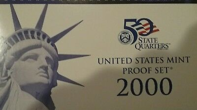 2000S US Mint Proof 10 Coin Set