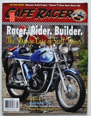 CAFE RACER Magazine April 2015 Seeley Rickman Ducati Scrambler - ST2003001118
