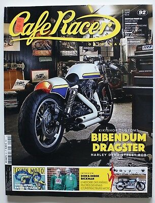 CAFE RACER 92 Avril 2018 Kikishop Customs Rickman Toria Jaymes - ST5006001118
