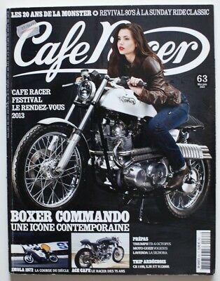 CAFE RACER 63 Juin 2013 Boxer Commando Norton Paul Smart King Kenny ST5006001118
