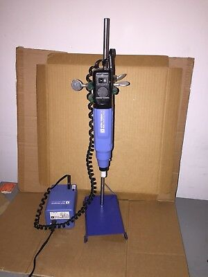 IKA T8 ULTRA-TURRAX HOMOGENIZER WITH T8.01 POWER SUPPLY and STAND