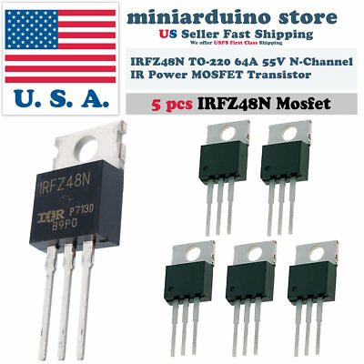 10 x IRFZ34N IRFZ34 Power MOSFET Transistor HEXFET Fast Switching 29A 55V