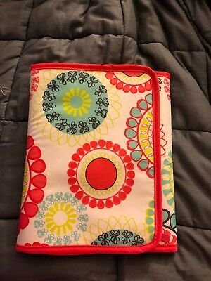 Thirty One 31 Fold-It-Up Organizer - CITRUS MEDALLION w Notepad NEW