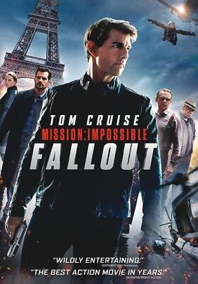 MISSION IMPOSSIBLE: FALLOUT (2018, DVD)***Brand NEW DVD***Ships NOW***