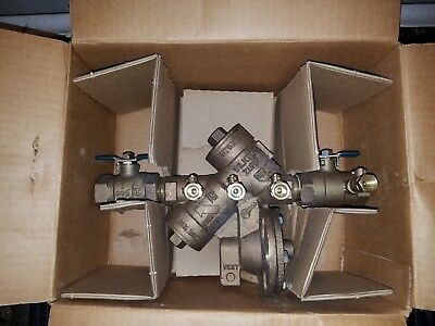 "ZURN WILKINS 1"" 975XL Reduced Pressure Backflow Preventer Valve"