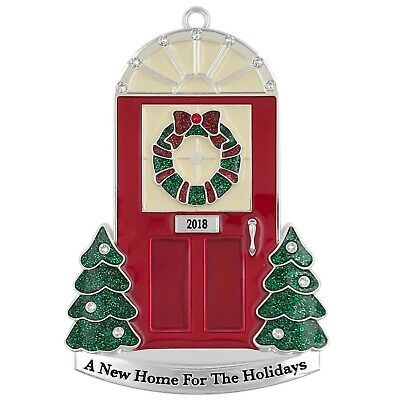 Harvey Lewis 2018 Red Door A New Home For The Holidays Red Christmas Ornament