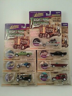 Frightning Lightnings Series No. 2 Edition complete set of 7