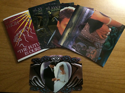 1998 Inkworks Buffy the Vampire Slayer Chase Cards Lot BTVS Trading Cards
