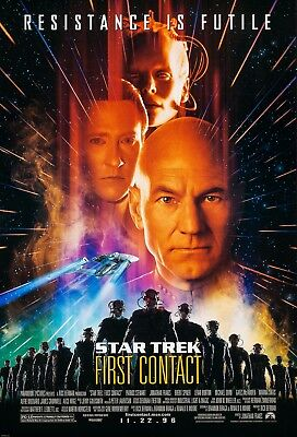 Star Trek: First Contact (1996) Original Movie Poster  -  Rolled  - Double-Sided