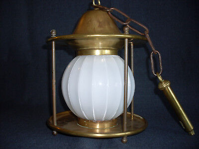 Antique Brass Porch Light Fixture