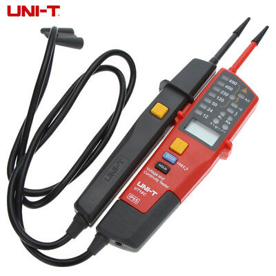 UNI-T UT18C Auto Range Voltage and Continuity Tester LCD Display On-Off Test