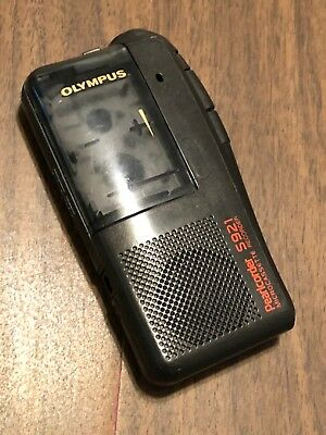 Olympus Pearlcorder S921 Handheld Cassette Voice Recorder Tested Works