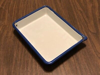Cesco 5x7 Enameled Darkroom Tray - Some Chipping See Photos