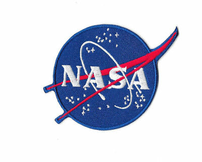 NASA STARS Iron on / Sew on Patch Embroidered Badge Space Cosplay PT419