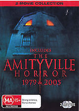 Amityville Horror 1979 / 2005 : very good condition like new  2-DVD