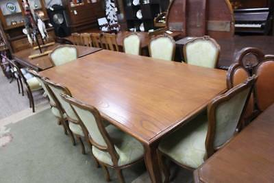 A Set of Eight 8 French Louis Dining Chairs - Table in other Listing