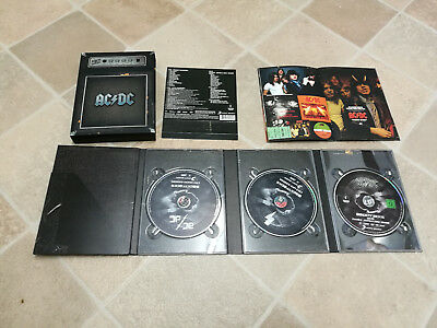 AC/DC - BACKTRACKS 2CD & DVD BOX SET 2 X Rarities CD + video disc dvd