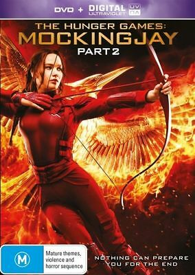 The Hunger Games - Mockingjay : Part 2 (DVD, 2016) very good condition
