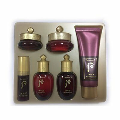 LG The History of Whoo Anti-aging Skin Care Gift Set *6items*+ Serums