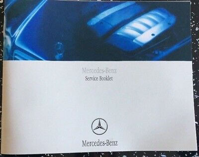 Mercedes Service History Book, Brand New & Genuine, Not Duplicate, All Models>>>